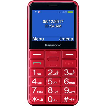 Panasonic KX-TU150EX červený (KX-TU150EXR)