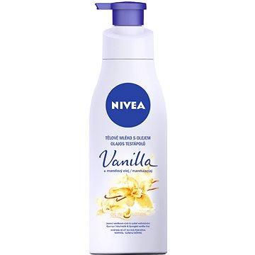 Tělové mléko NIVEA Vanilla&Almond Oil 200 ml (9005800283845)
