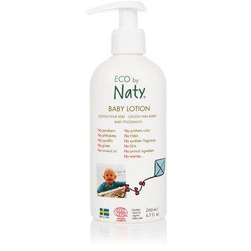 Dětské tělové mléko NATY Nature Babycare ECO Baby Lotion 200 ml (7330933245593)