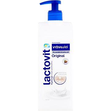LACTOVIT Original Tělové mléko vyživující 400 ml (8411660650023)