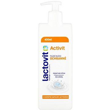 LACTOVIT Activit Tělové mléko ochranné 400 ml (8411660650641)