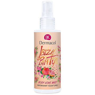 DERMACOL Body Love Mist Ibiza party 150 ml (8595003110129)