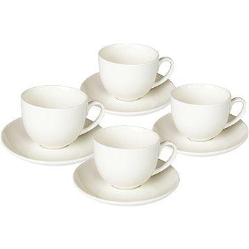 Tognana Sada šálků na čaj s podšálky 4ks 250ml PERLA BIANCO (PE685130000)