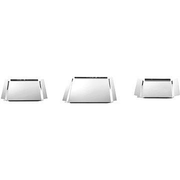 Toner 3-dílná souprava hranatých podnosů nerez 18/10 (73000080)