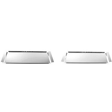 Toner 2-dílná souprava hranatých podnosů nerez 18/10 (73000090)