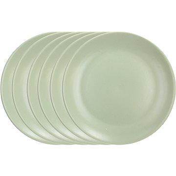 Tognana Sada mělkých talířů 26cm FABRIC SALVIA 6ks, zelená (FA100260814)