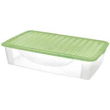 Tontarelli DODO STOCK-BOX s víkem 27L transparent/zelená (8035085AZ5)