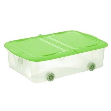 Tontarelli STOCK Box 25L s víkem transparent/zelená (8035298AI9)