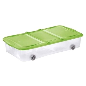 Tontarelli STOCK Box 27,5L s víkem transparent/zelená (8035338AI9)