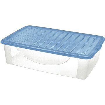 Tontarelli DODO STOCK-BOX s víkem 36,5L transparent/světle modrá (8035110AU0)