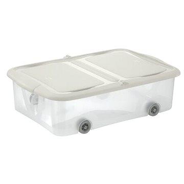 Tontarelli STOCK Box 25L s víkem transparent/krémová (8035298AD0)
