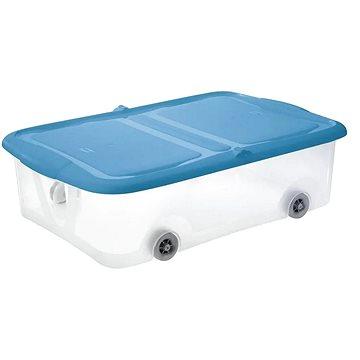 Tontarelli STOCK Box 25L s víkem transparent/světle modrá (8035298AS1)