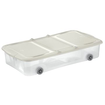 Tontarelli STOCK Box 27,5L s víkem transparent/krémová (8035338AD0)