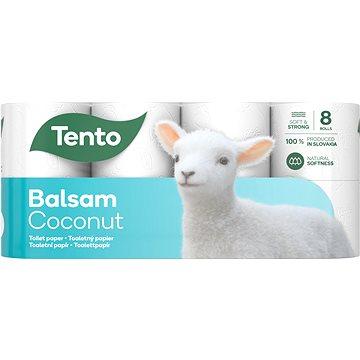 Toaletní papír TENTO Sensitive Coconut Milk (8 ks) (6414301012992)
