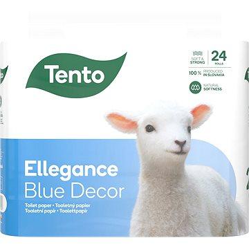 Toaletní papír TENTO Ellegance Cool Aqua (24 ks) (6414301007486)