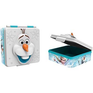 Toro Svačinový box plastový 3D Frozen, 600ml (ST55837)