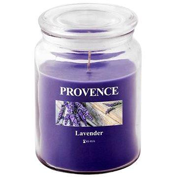 Provence Svíčka ve skle s víčkem 510g, Levandule (565015)