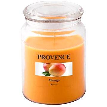 Provence Svíčka ve skle s víčkem 510g, Mango (565018)