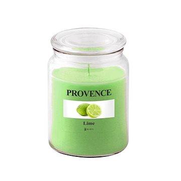 Provence Svíčka ve skle s víčkem 510g, Limetka (565021)