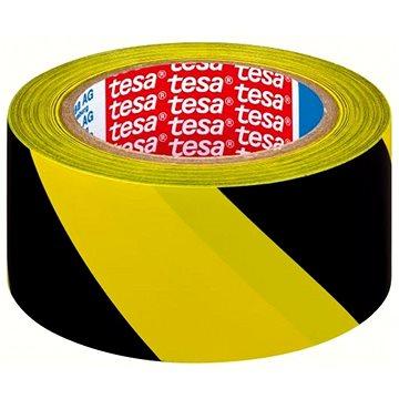 Lepící páska TESA vyznačovací 33m x 50mm žluto/černá (J60760-00093-01)