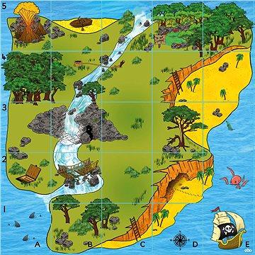 Bee-Bot podložka Ostrov pokladů (TT-BEE-ISLAND)