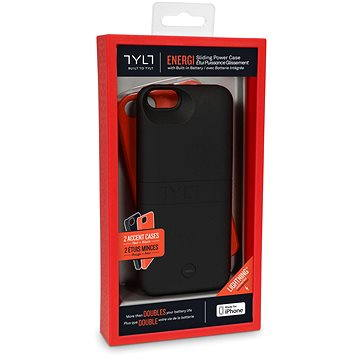 Tylt Energi Slide Power Case iPhone 5/5S 2500mAh Red (IP5PCRD2-T)