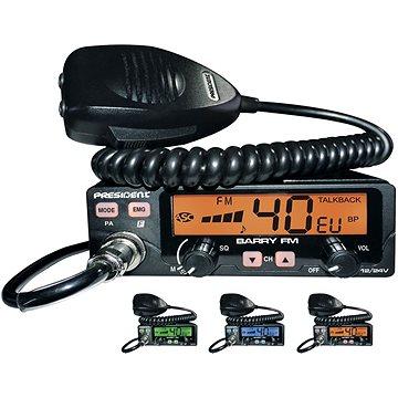 President BARRY FM radiostanice CB (1110370)