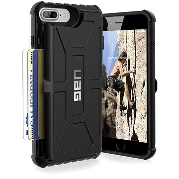 UAG Trooper Black pro iPhone 7 Plus /6s Plus (UAG-IPH7/6SPLS-T-BK)