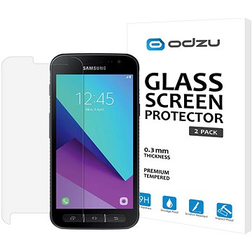 Odzu Glass Screen Protector 2pcs Samsung Galaxy Xcover 4 (ODZGLSGLXXC4)