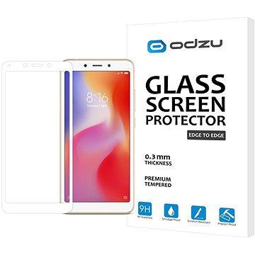 Odzu Glass Screen Protector E2E White Xiaomi Redmi 6A (GLS-E2EWH-XR6A)