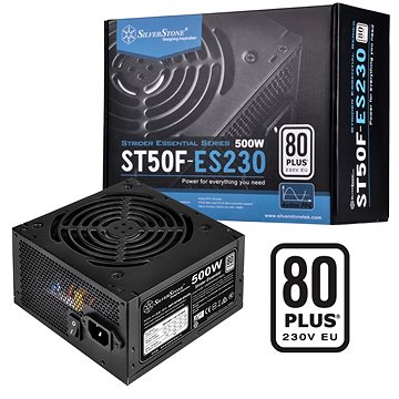 SilverStone Strider Essential 80Plus ST50F-ES230 500W (SST-ST50F-ES230 v 2.0)