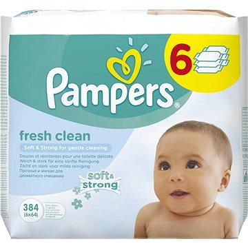 PAMPERS Baby Fresh Vlhčené ubrousky 6x64 ks