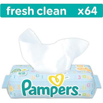 PAMPERS Fresh Clean (64 ks) (4015400439110)