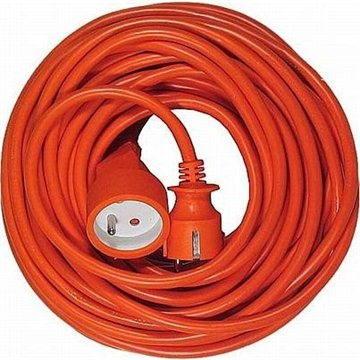 PremiumCord prodlužovací 30m 230V, oranžový (8592220006228)