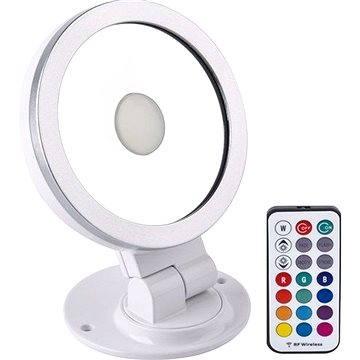 Solight RGB LED reflektor 10W, bílo-stříbrný (WM-10W-RGB)