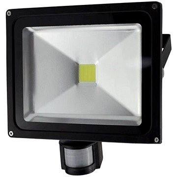 Solight venkovní reflektor se senzorem 30W, černý (WM-30WS-E)