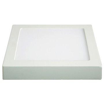 Solight LED panel přisazený 12W čtvercový, bílý (WD116)