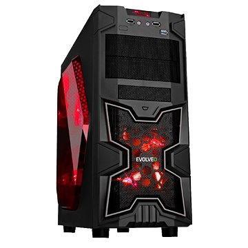 EVOLVEO SA02 černá/ červená