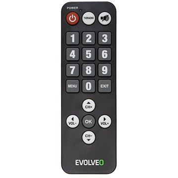 EVOLVEO seniorský dálkový ovladač pro Alpha T2 a Omega II (REM 3055/3065)