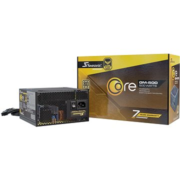 Seasonic Core GM 500W Gold (SSR-500LM)