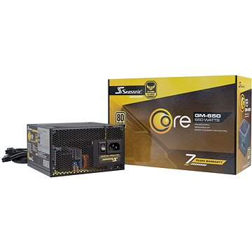 Seasonic Core GM 650W Gold (SSR-650LM)