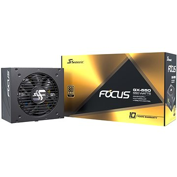Seasonic Focus GX 650W Gold (FOCUS-GX-650)