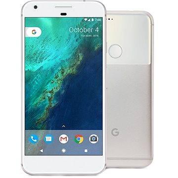 Google Pixel Very Silver 32GB + ZDARMA Digitální předplatné Týden - roční Cestovní adaptér Hama - zásuvkový adaptér z Británie do ČR