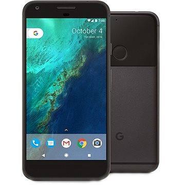 Google Pixel Quite Black 128GB + ZDARMA Cestovní adaptér Hama - zásuvkový adaptér z Británie do ČR