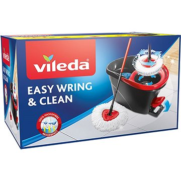 Vileda Easy Wring and Clean (Easy Mocio set) + ZDARMA Hadřík VILEDA Actifibre 29x29 cm (1ks)