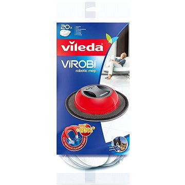 Vileda Virobi robotický mop náhrada + ZDARMA Hadřík VILEDA Actifibre 29x29 cm (1ks)