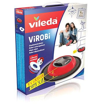VILEDA Virobi Slim robotický mop (4023103191303)