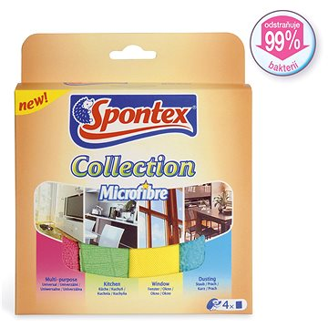 SPONTEX Collection Microfibre 4 ks (9001378440956)