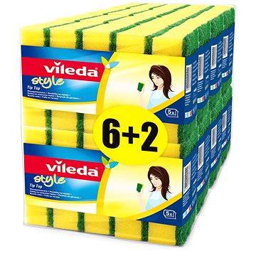 Houba VILEDA Style Tip Top houbička 8x5ks ks (8594045881486)