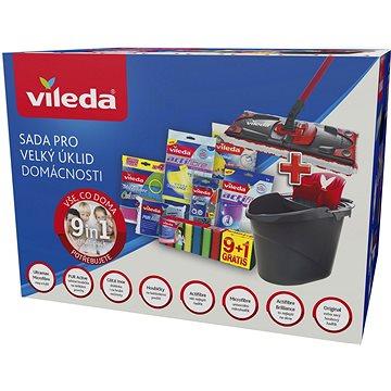 VILEDA sada pro velký úklid 9v1 (8594045881677)